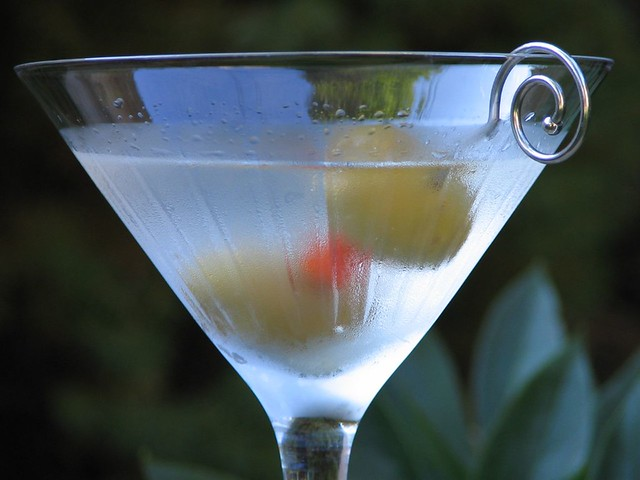 Friday after work too | A classic martini of Tanqueray ...