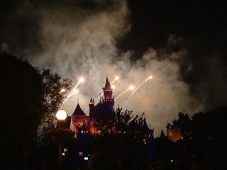 Disney Castle Fireworks | by Soozy