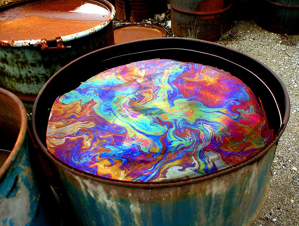 Oil Slick Paint Car