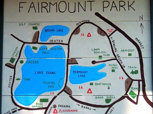 Fairmount Park Map Matt Varner