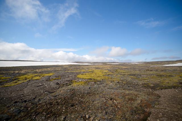 Maravillosos paisajes de lava de Islandia