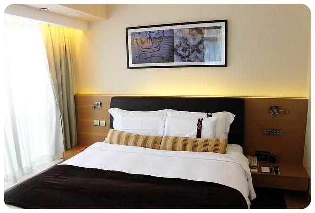 LKF hotel Hong Kong bed