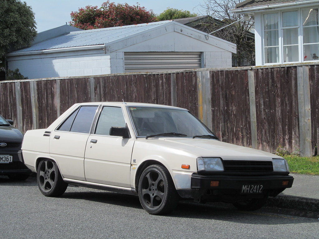 1986 Mitsubishi Tredia Gl Can Anyone Identify The Obvious Flickr