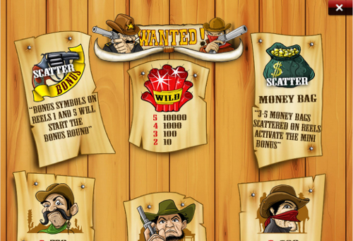 free Wanted Dead or Alive Mobile slot payout