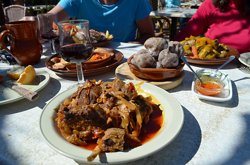 Traditional Canarian food, Vilaflor, Tenerife