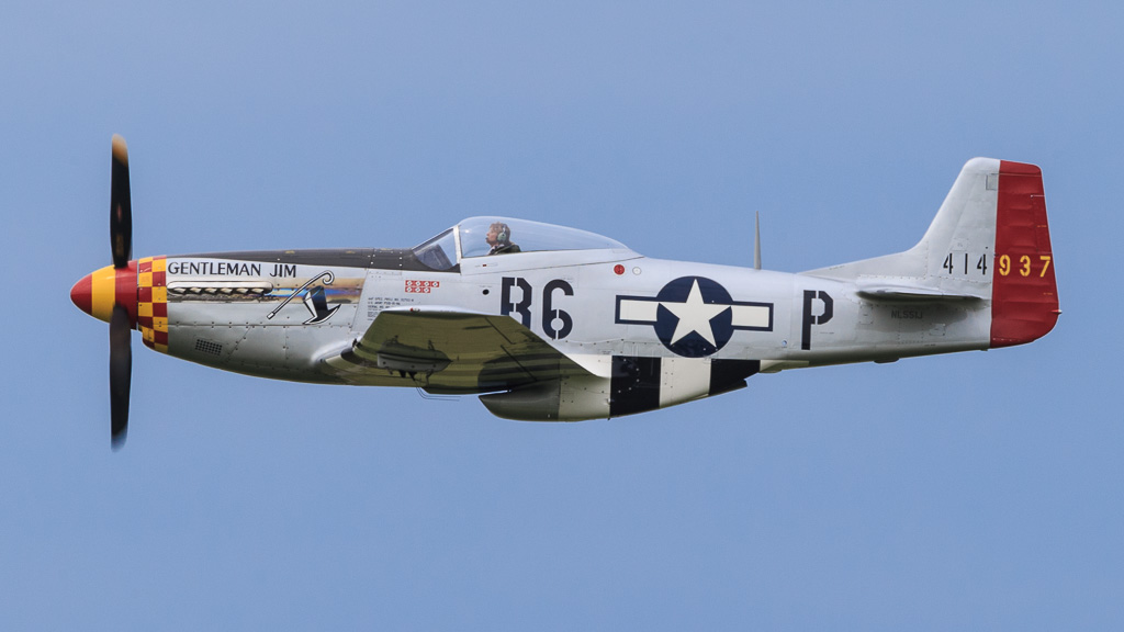 The North American P 51d Mustang Quot Gentleman Jim Quot The