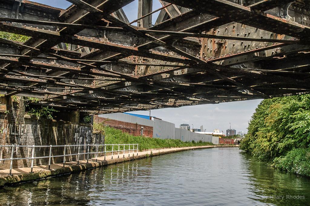 Passing Under The Derelict Goods Railway Bridge 92
