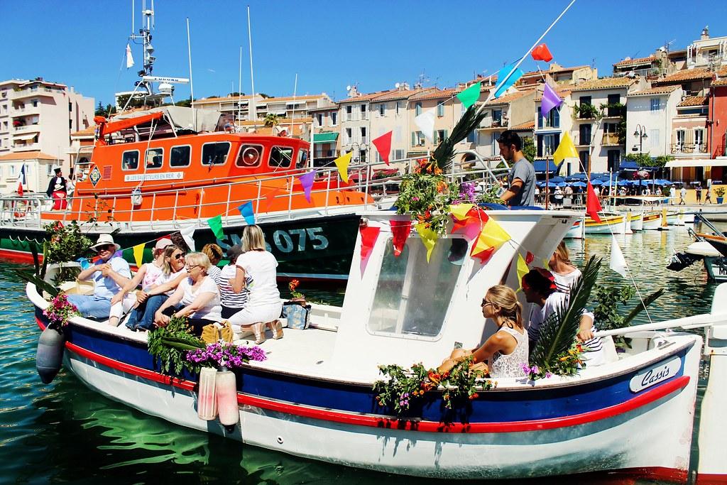 Drawing Dreaming - guia de visita de Cassis na Provença - Festas do Mar