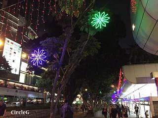 CIRCLEG 香港 尖沙咀 2016聖誕 TSIMSHATSUI 燈飾 遊記 聖誕 2016  (1)