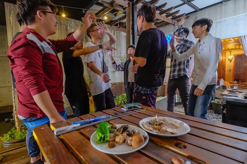 [推薦] 2016鳳凰花開畢業烤肉趴在台南媜13汽車旅館風光歡送學長姐 (1)