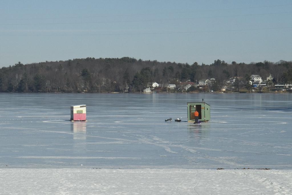 Laconia ice fishing huts january 16 2017 ice fishing for Ice fishing 2017