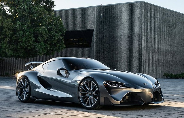 Toyota FT-1 Graphite Concept 2014 1