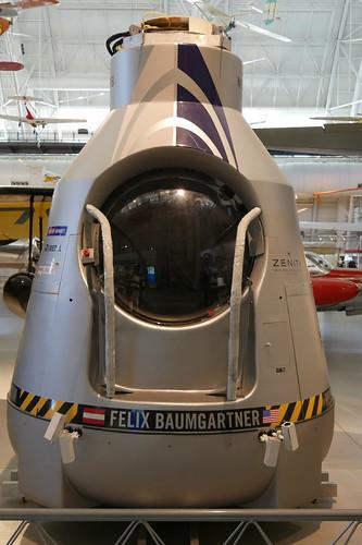 Stratosphären-Kapsel von Felix Baumgartner