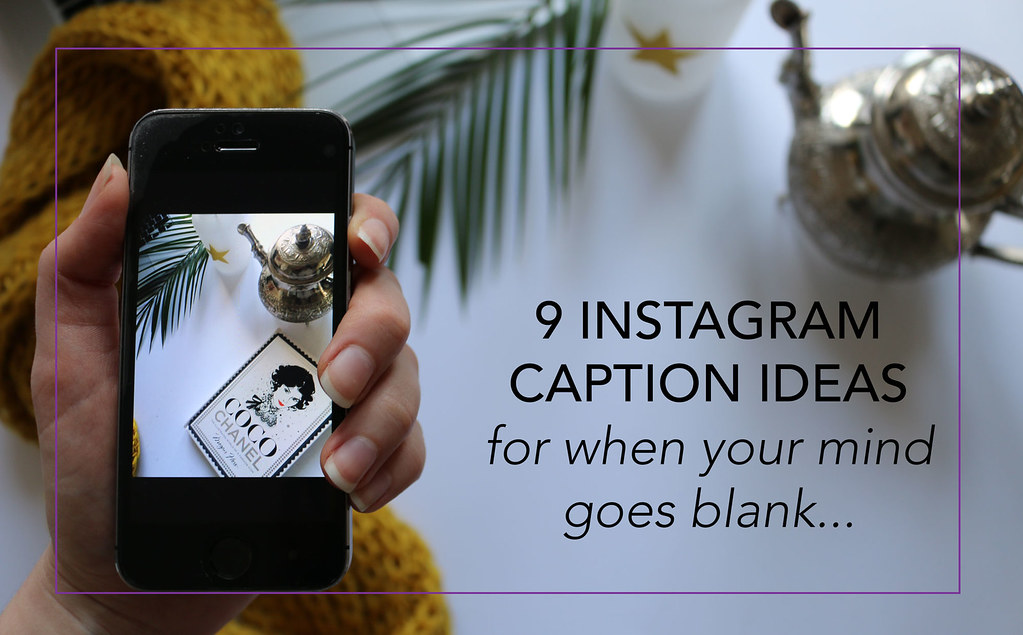 9 INSTAGRAM CAPTION IDEAS FOR WHEN YOUR MIND GOES BLANK - www.fashionartista.com