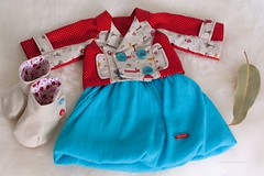 "Fairy tale classics - set of clothing for 19-10"" cloth dolls"