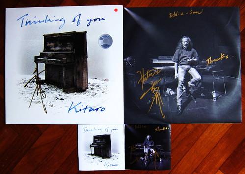 Signed Kitaro Album