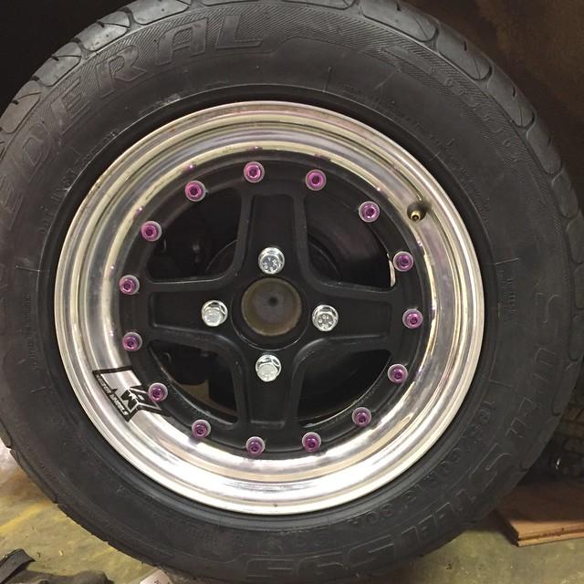Grassroots Motorsports Forum: 3 Piece Wheel Hardware - Stupid Light Edition