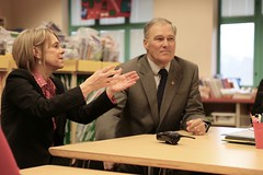 Governor Inslee at Highland Park Elementary School