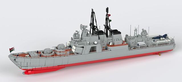 Central Efrikkan Dzanga Class Destroyer