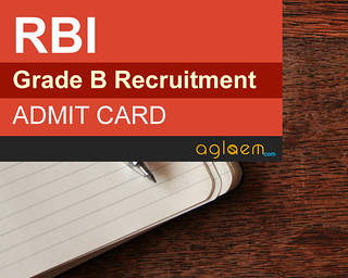 RBI Grade B Admit Card 2015 for Phase 1 and Phase 2 - Download Here