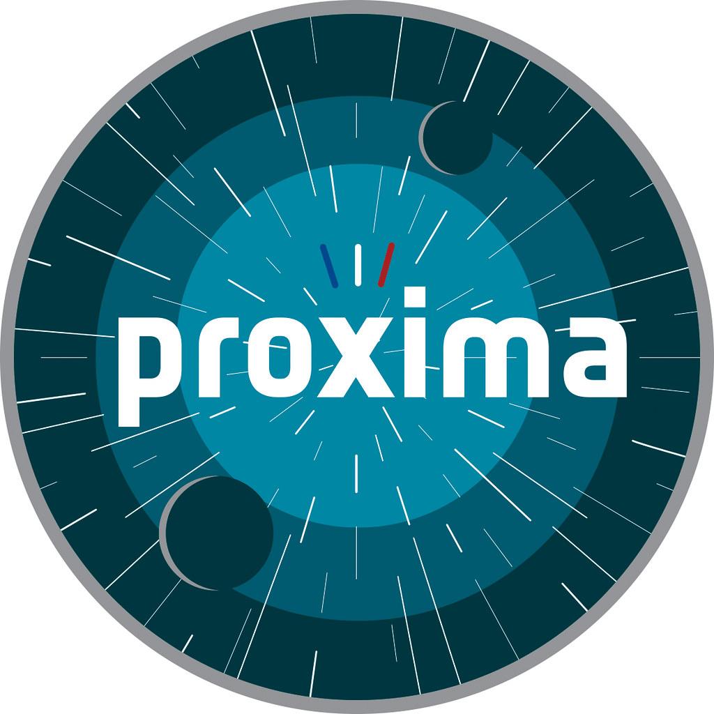 Proxima mission logo   ESA astronaut Thomas Pesquet (FR ...