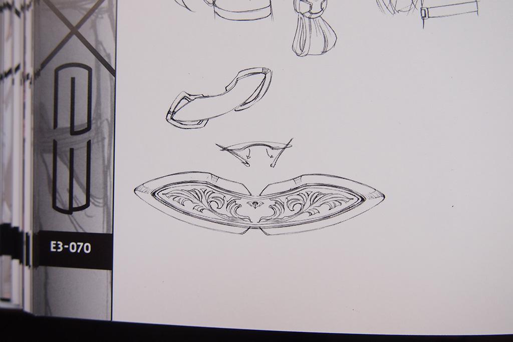 Hair Clip design