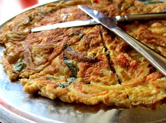 Loco Kitchen seafood pancake 2