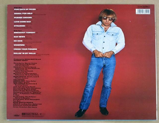 "MOON MARTIN STREET FEVER 12"" LP VINYL"