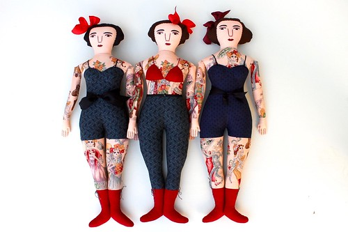 3 lovely tattooed ladies! | by Mimi K