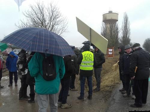 #GCOnonMerci Inauguration 8ème cabane anti-#GCO à Eckwersheim