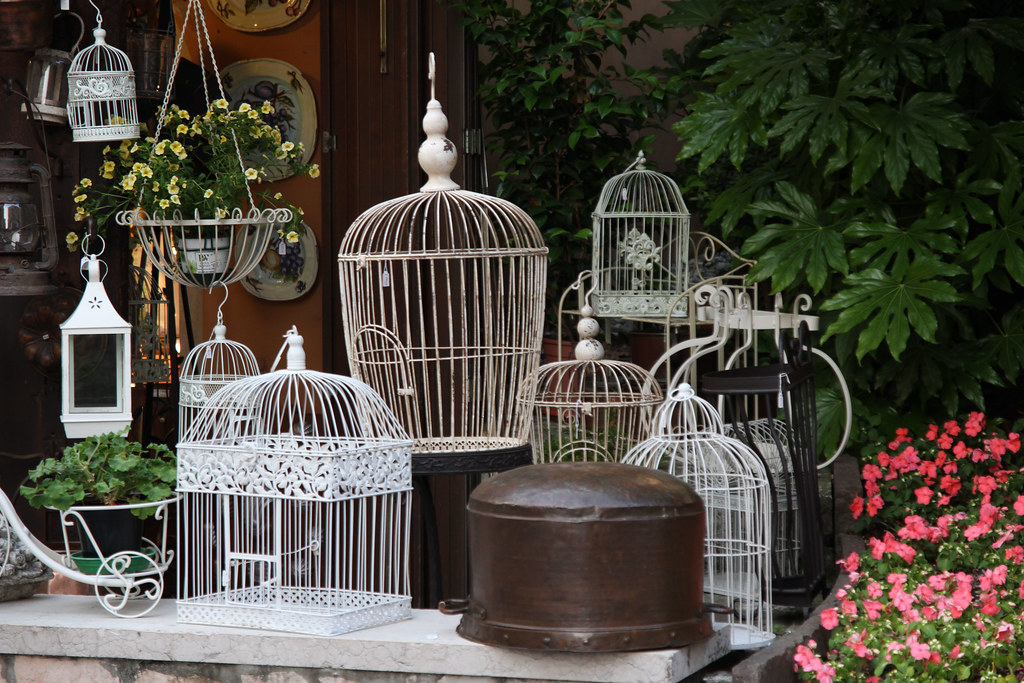 Bird cages - lake garda italy