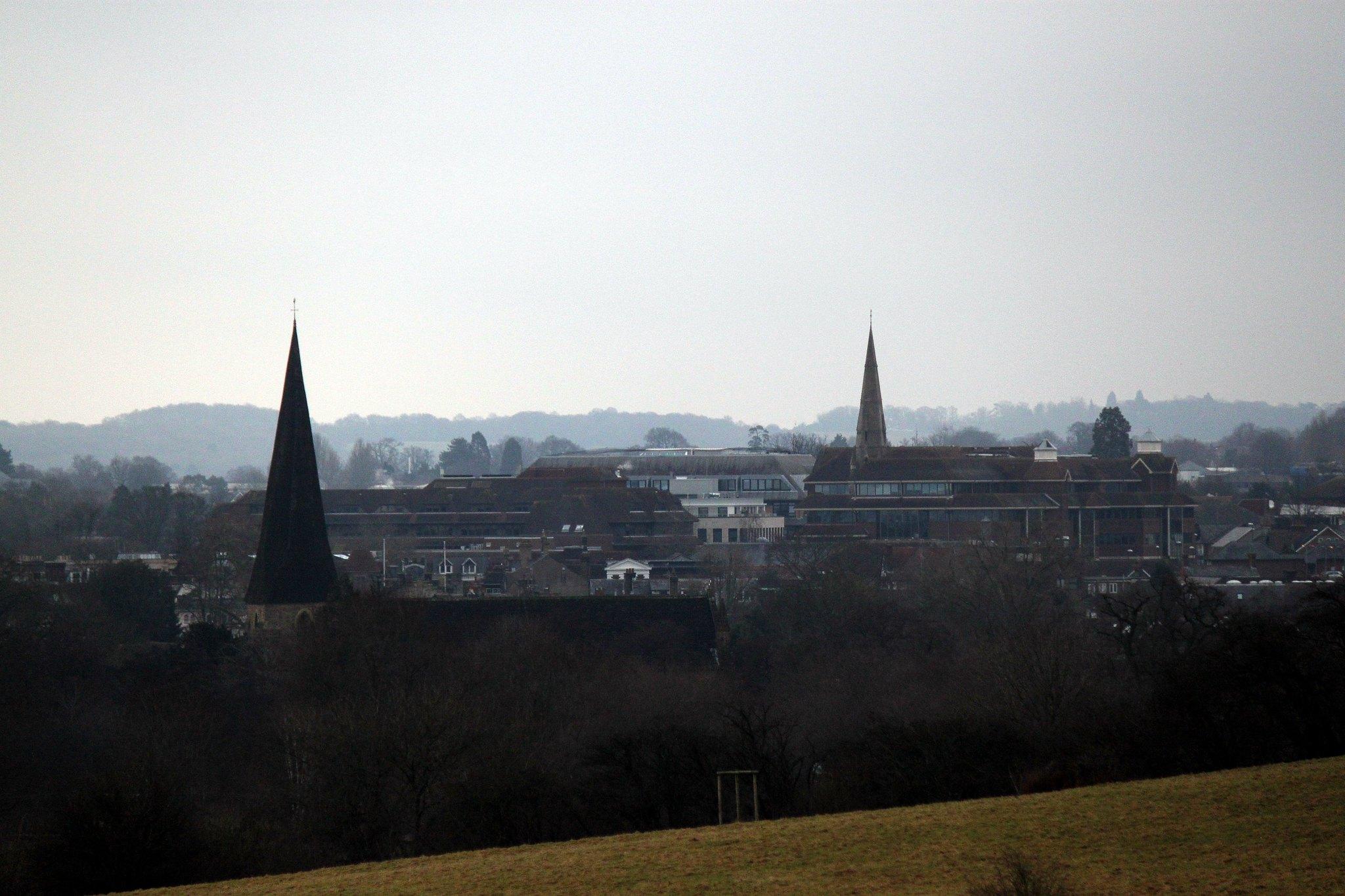 View over Horsham