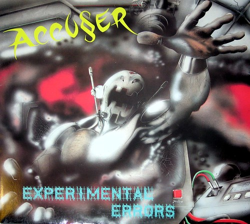 "Accuser / Accu§er Experimental Errors 45RPM 12"" Vinyl EP 