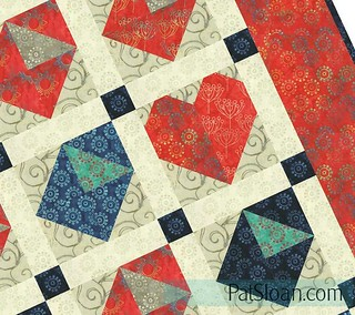 letters from home quilt twisted | by quilterpatsloan