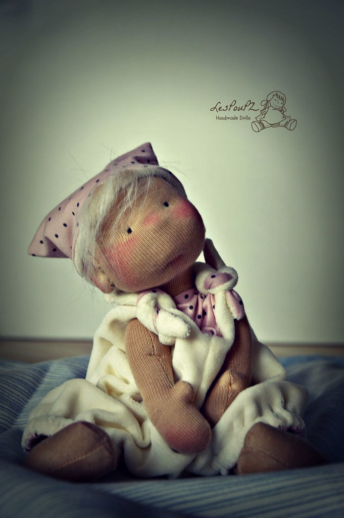 Custom Spot for one Sweet Pea Baby Doll, by LesPouPZ Handmade