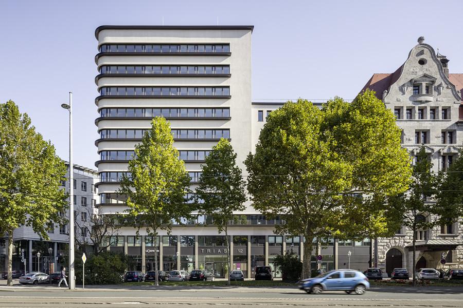 Architekturfotografie Leipzig trias geschäftshaus und bürohaus trias geschäftshaus und b flickr