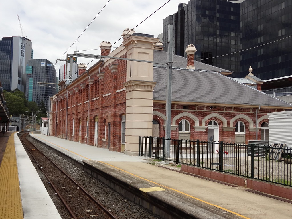 this heritage building at roma street railway station is s. Black Bedroom Furniture Sets. Home Design Ideas