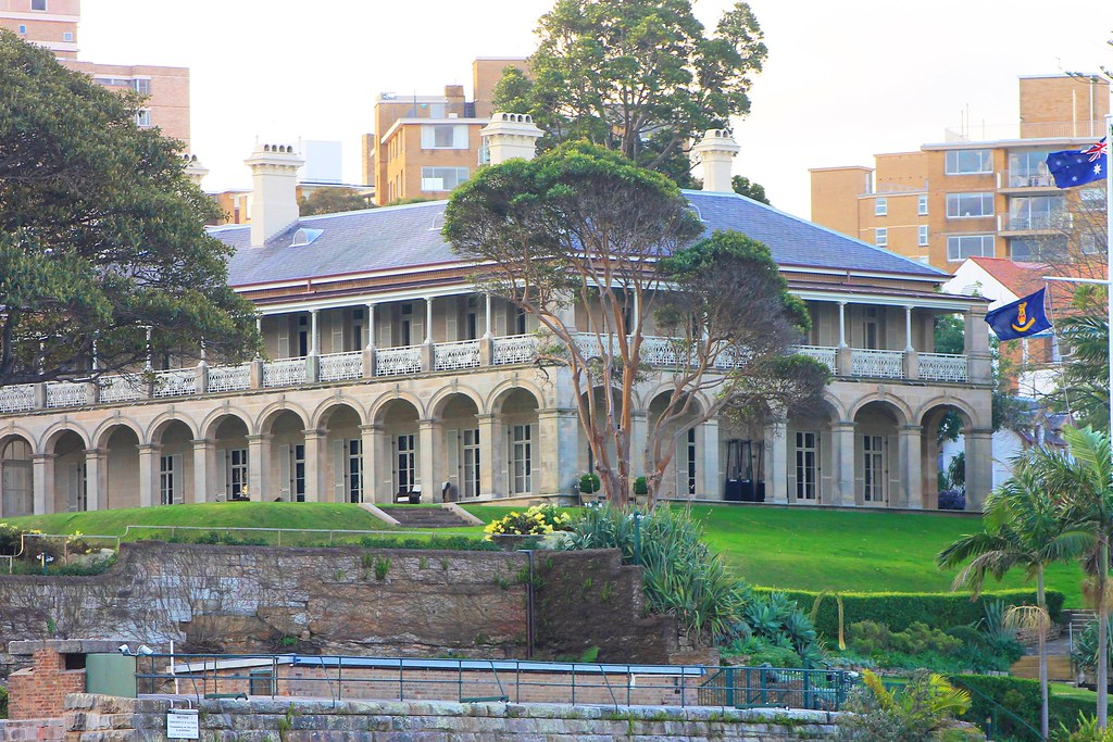 Admiralty house, Sydney | Sydney residence of the Governor G… | Flickr