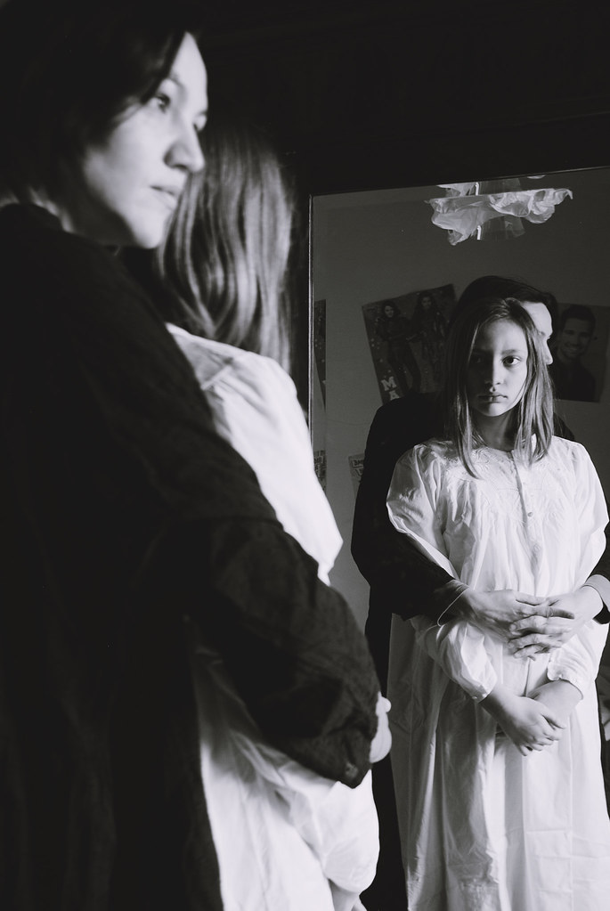 doppio ritratto allo specchio
