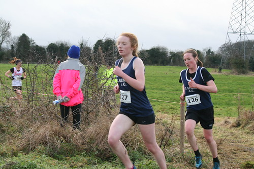 Leinster XC: Juvenile Relays: Masters and Intermediate Women: Jan 15th 2017