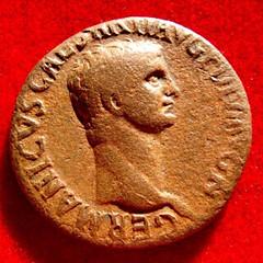 Germanicus Bronze obverse