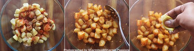 How to make Aloo Chaat Recipe - Step4