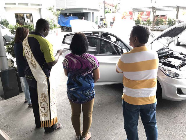 blessing of the car