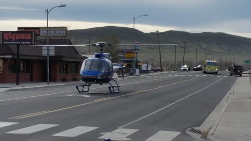 Care Flight in Downtown Fernley