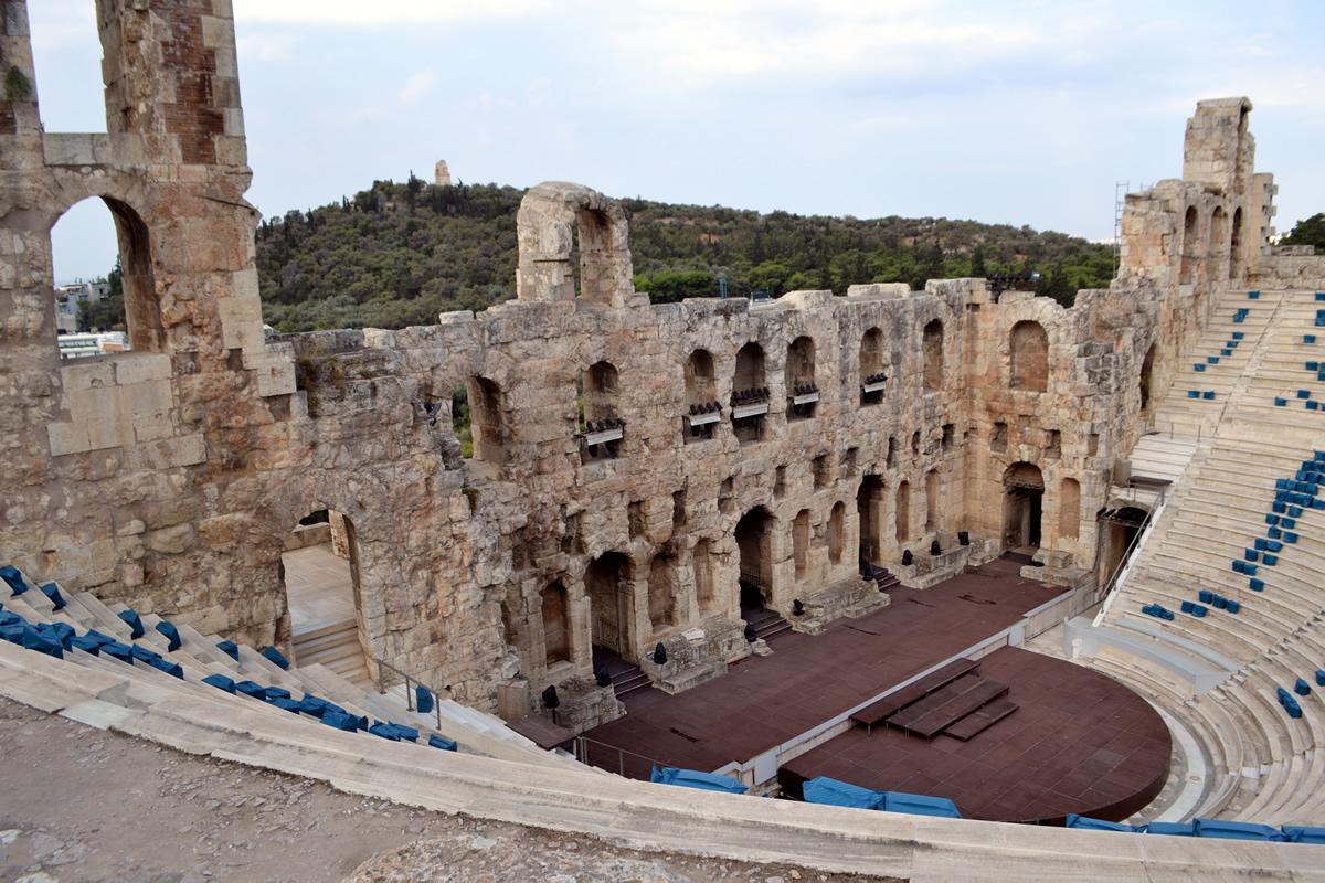 Grada del Odeón de Herodes