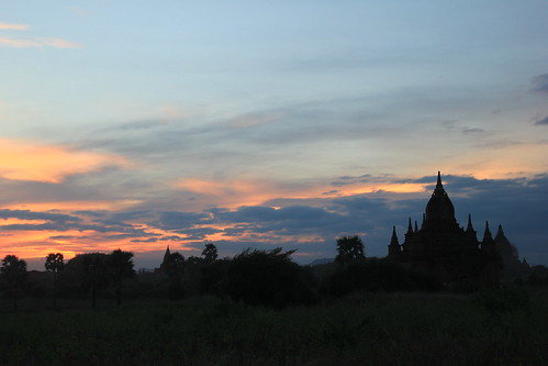 Sunset, Bagan