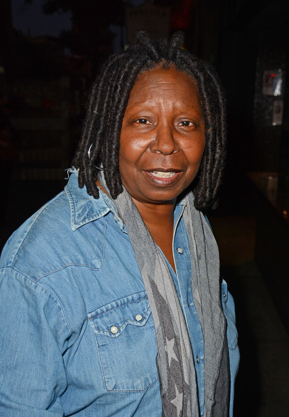 whoopi goldberg seen out in nyc 9/24/15. | lipstick alley