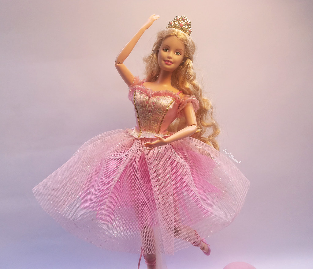 barbie in the nutcracker sugarplum princess doll with