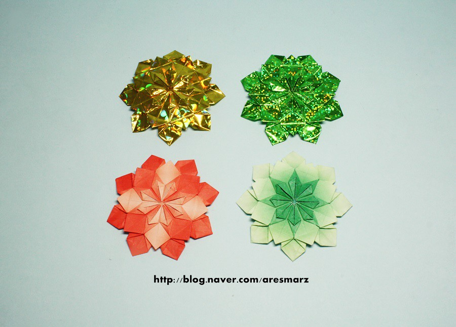 Origami flower pattern tomoko fuse model origami flowe flickr origami flower pattern tomoko fuse by sayac mightylinksfo