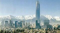La torre Costanera a Xile, la més alta a Amèrica del Sud.